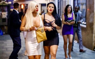 Londoner Mädels sind nicht kälteempfindlich